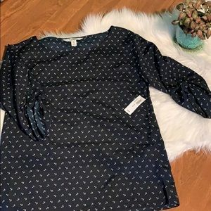 Old Navy Anchor Blouse
